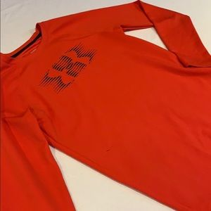 🔴 Under Armour red long sleeve shirt Youth XL